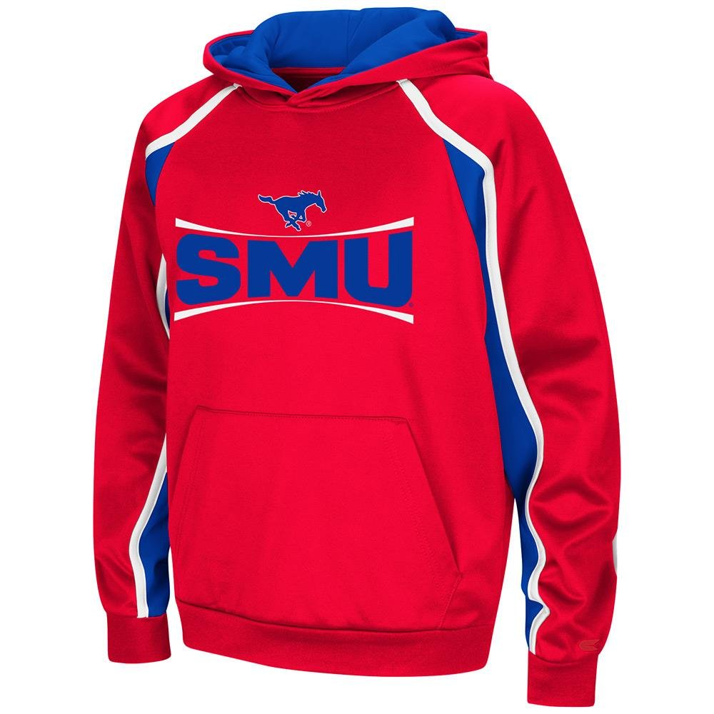 Colosseum Youth SMU Mustangs用プルオーバーパーカー  Large (16/18)