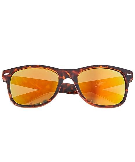 057094b7ed453 Joe Browns Tortoiseshell Frame Wayfarer Sunglasses with Mirror Lenses   UV  Protection Brown Multicolored One Size