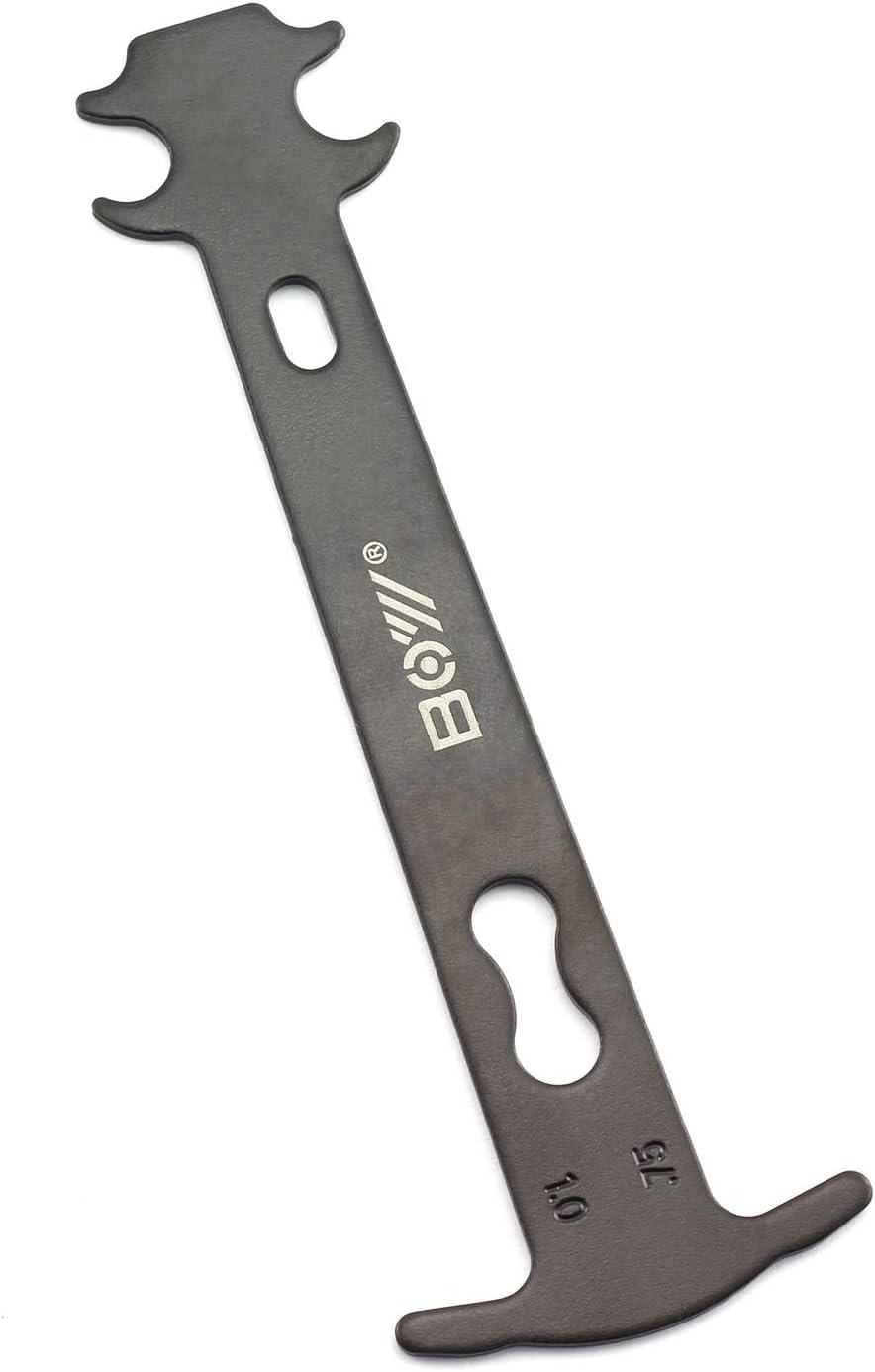 6 In 1 Chain Measuring Device Mountain Bike Road Bike Gauge Tool Wear Gauge Z2R0