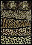 Animal Prints Area Rug #71 (8 Ft. X 10 Ft.)