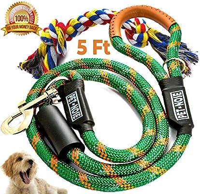 Pet-Nose - Cuerda resistente para correa de perro de 1,52 m y ...