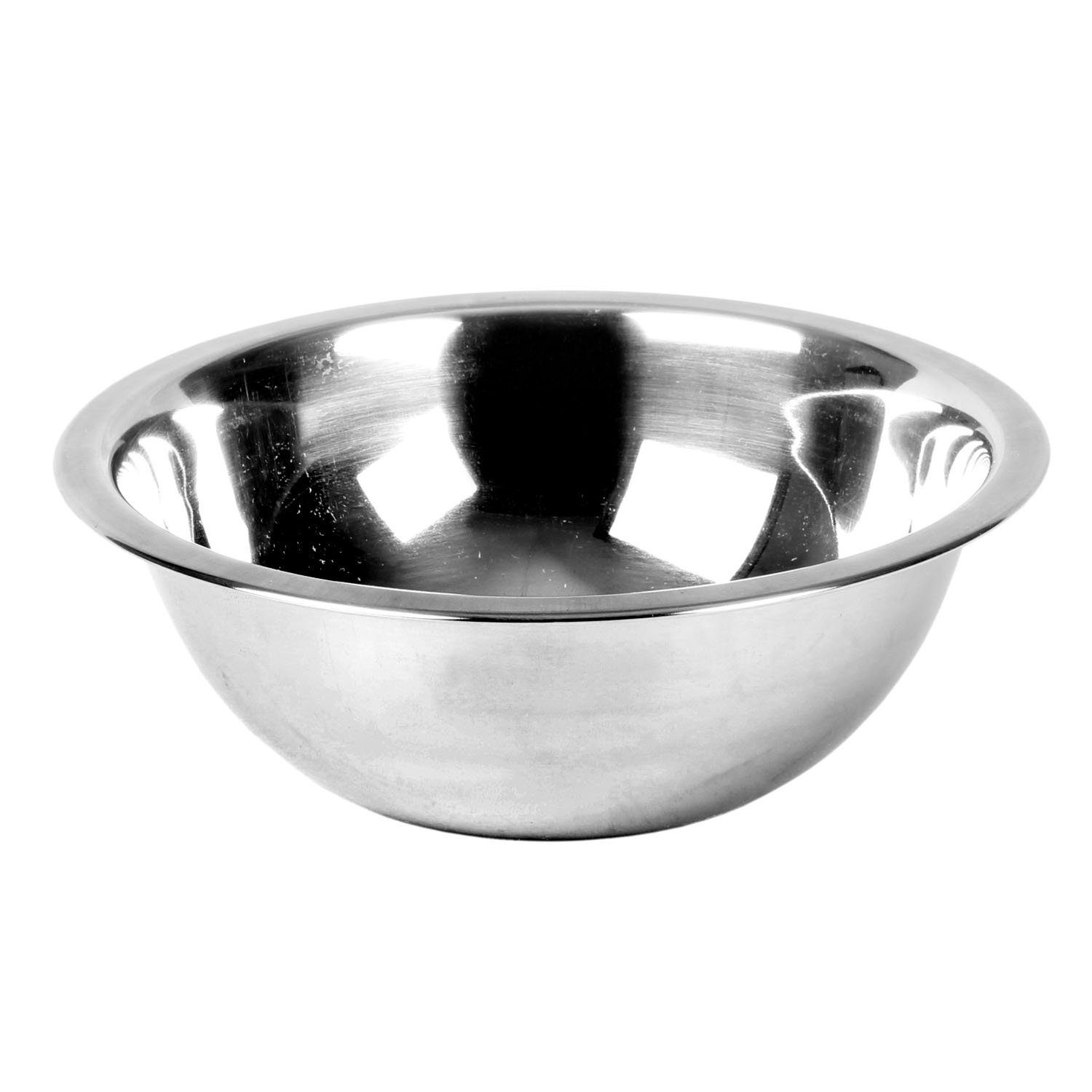 Excellante Mixing Bowl, Heavy Duty, Stainless Steel, 22 gauge, 0.75 quart, 0.8 mm