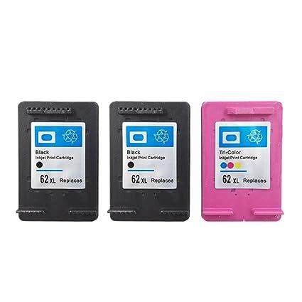yatunink 3 unidades de alto rendimiento negro & Tri-color cartucho ...