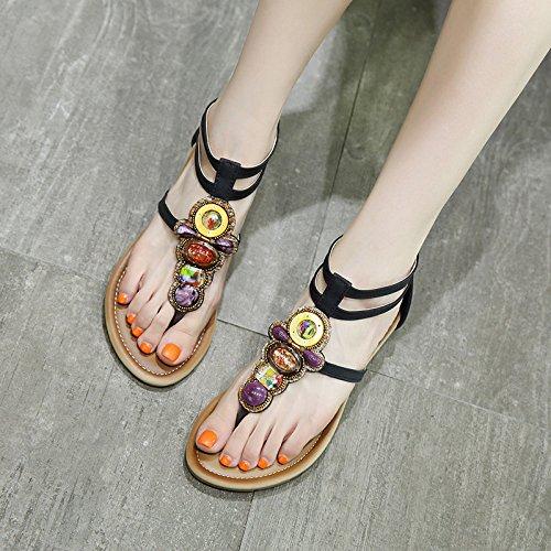 t Pantoufles Chaussures Et 36 Antidrapantes Nouvelles Sandales Plates Femmes Pour Tongs PTqFqZxIX