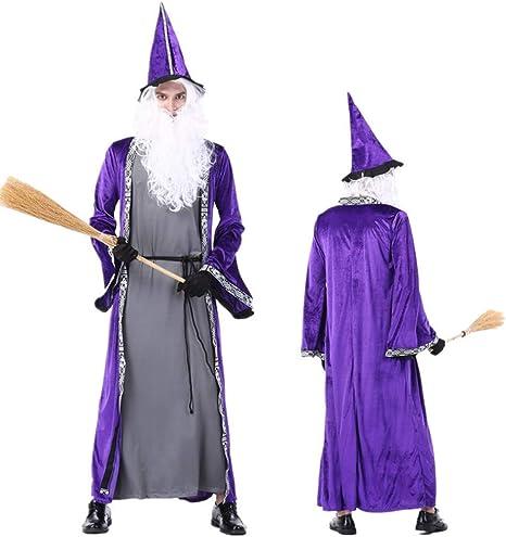 Da Uomo Abito Viola Costume Adulti Vestito Da Festa Costume