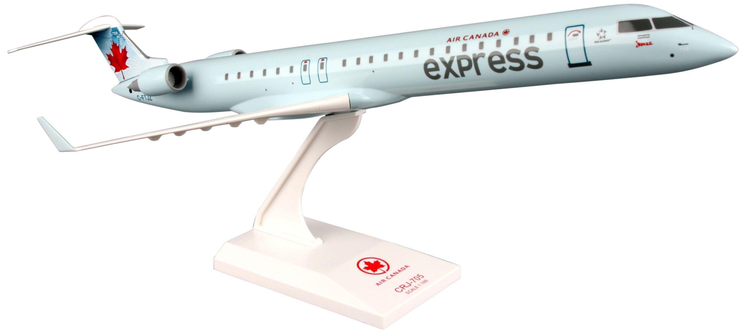 Daron Skymarks Air Canada Express CRJ705 Airplane Model Building Kit, 1/100-Scale by Daron