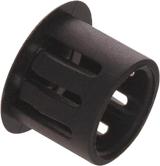 10-Pack The Hillman Group 58135 5//8-Inch Black Nylon Hole Plug