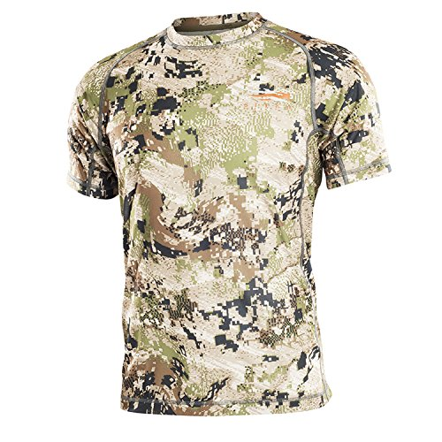 SITKA Gear Core Light Weight Crew - Short Sleeve Optifade Subalpine X Large