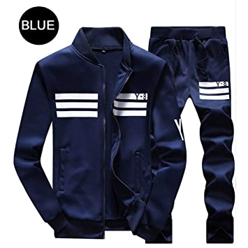 ZMMYD Sportswear Running otoño Invierno chándal Hombre chándales ...