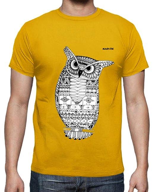 latostadora - Camiseta Buho Hantön para Hombre: Hantön ...