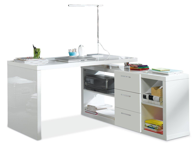 Schreibtisch Viel Stauraum ~ Eckschreibtisch schreibtisch computertisch arbeitstisch techno