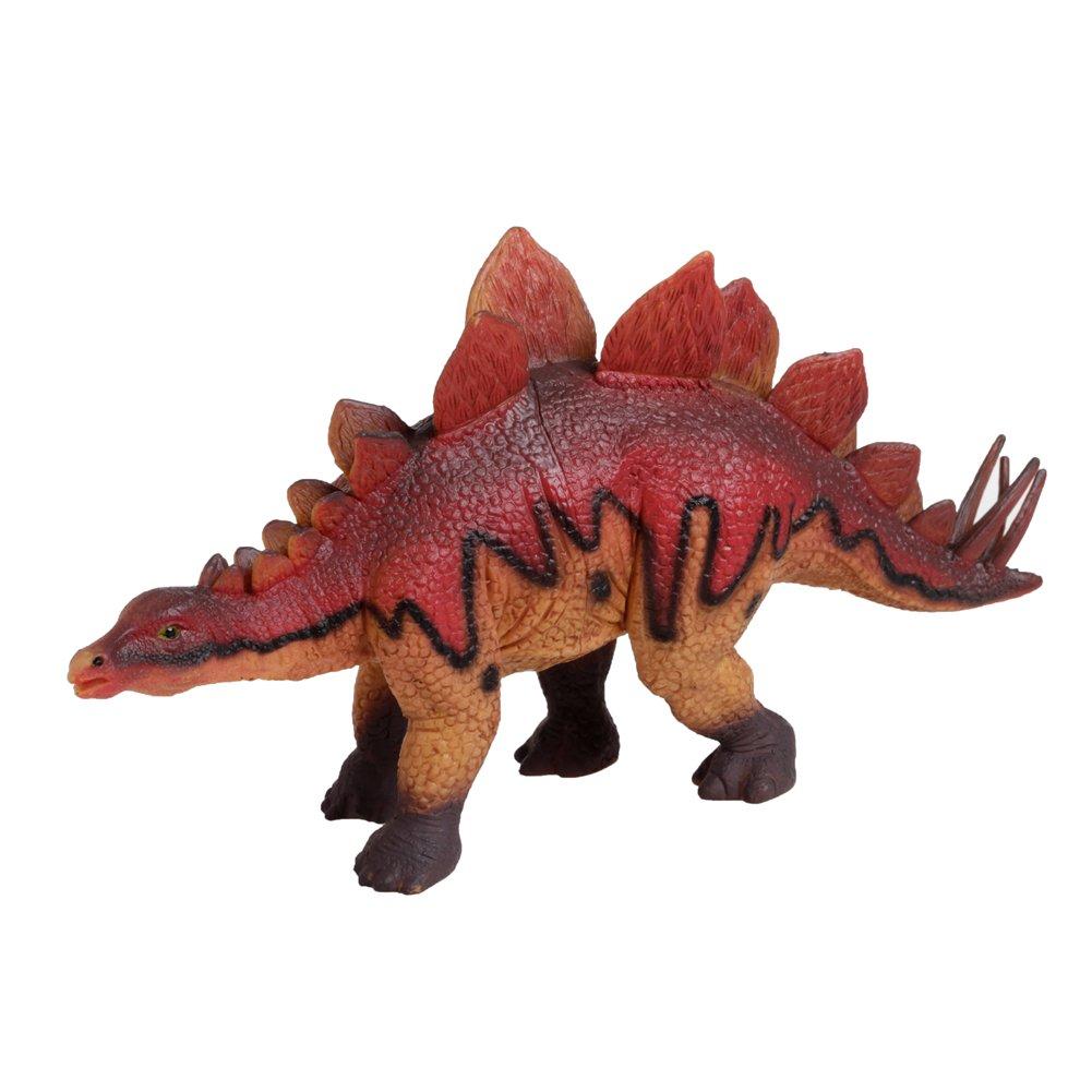 Damara Emulate Stegosaurus Model Dinosaur Toy Scale Gift Box