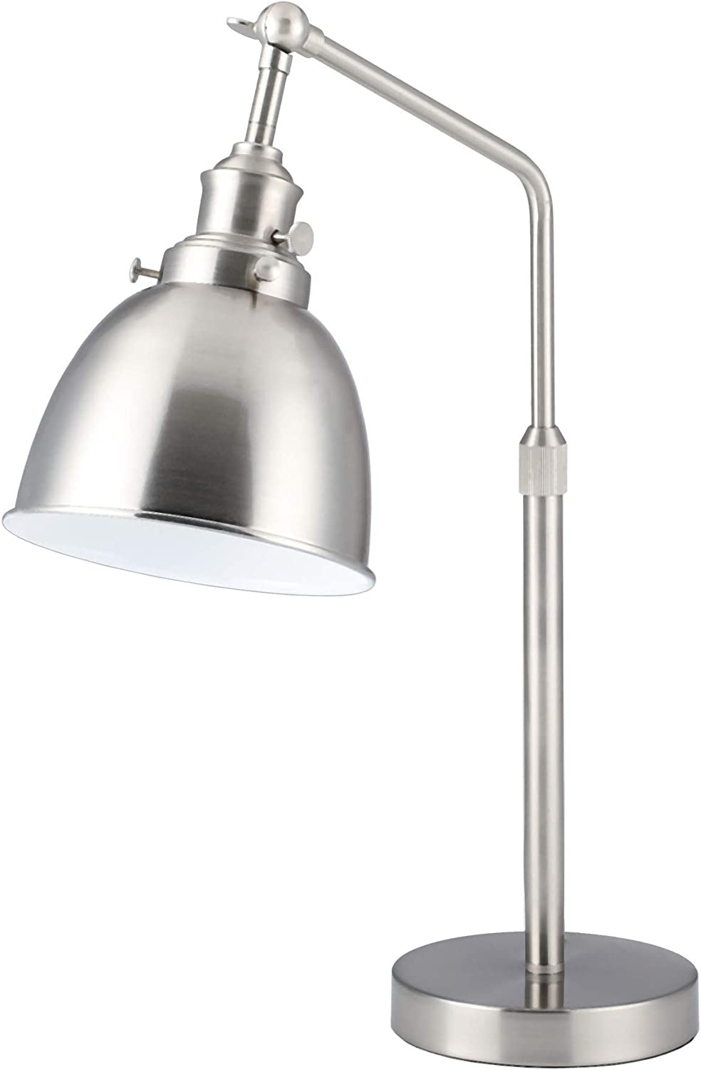 British made replacement all nickel switched bulb holder for Anglepoise lamp A1