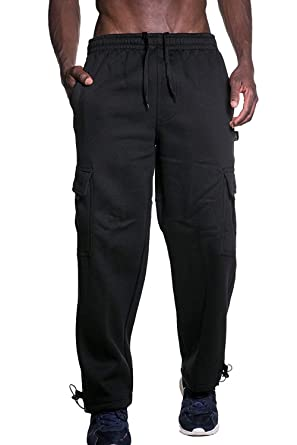 best sell new selection free delivery Ma Croix Mens Premium Heavyweight Cargo Sweatpants Multi ...