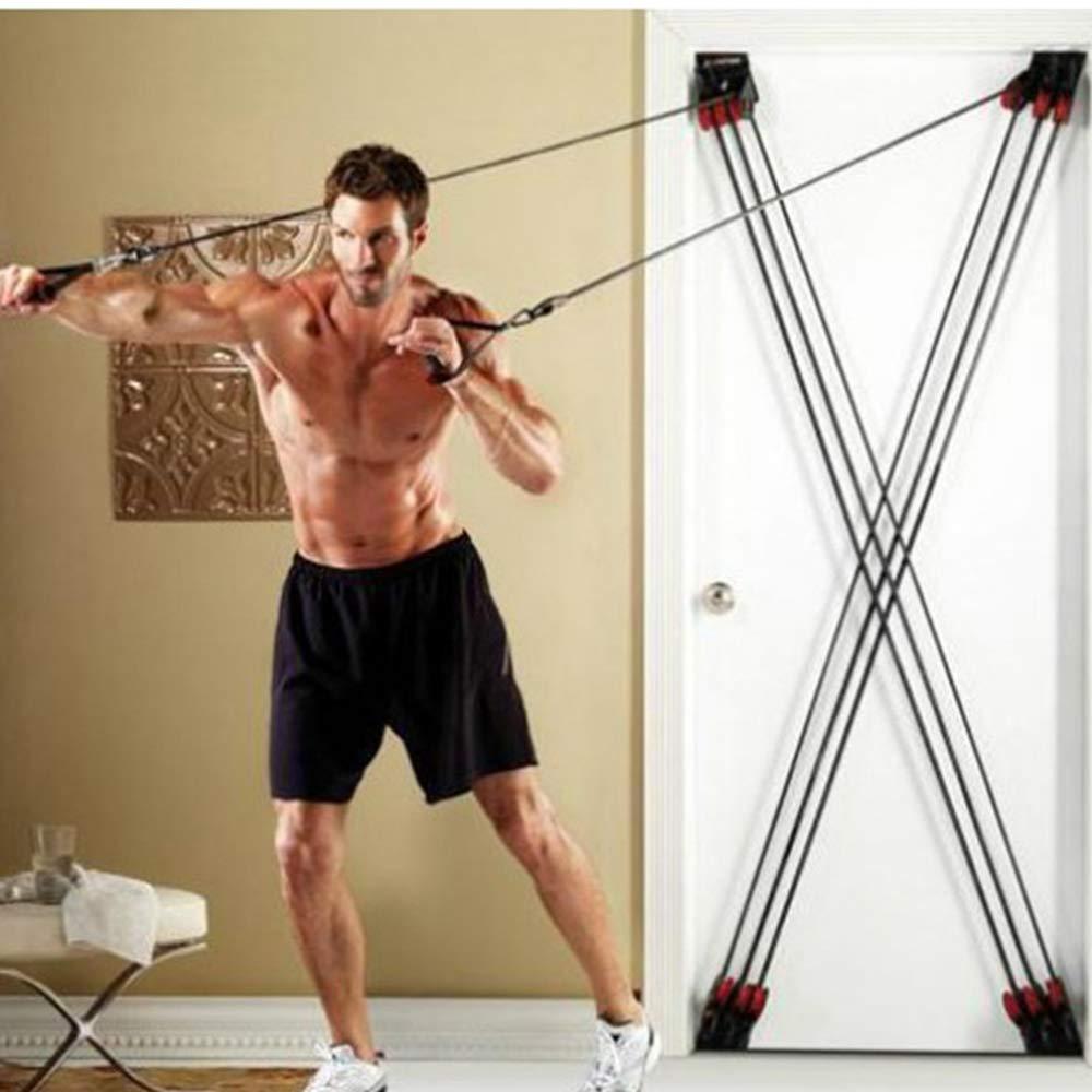 XB AMZ Fitness-Widerstands Bänder Ziehen Seil Yoga Pilates Tür Fitness-Spannung Elastische Trainingsgeräte