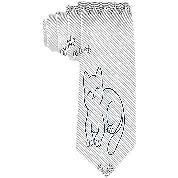 Patrón de animales para hombre Corbata clásica Corbata tejida ...
