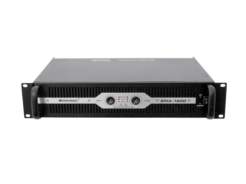 OMNITRONIC 057273 sma-1500 Verstärker schwarz: Amazon.de ...