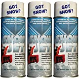 Pack of 3 11oz Cans Sno-Jet Snow Removal Spray