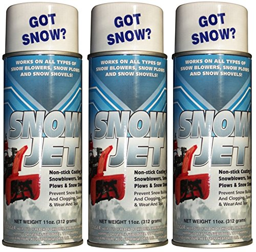 (Pack of 3 11oz Cans Sno-Jet Snow Removal Spray)