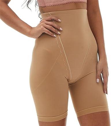 KHAYA Womens Seamless Shapewear High Waist Mid Thigh Shaper Shorts
