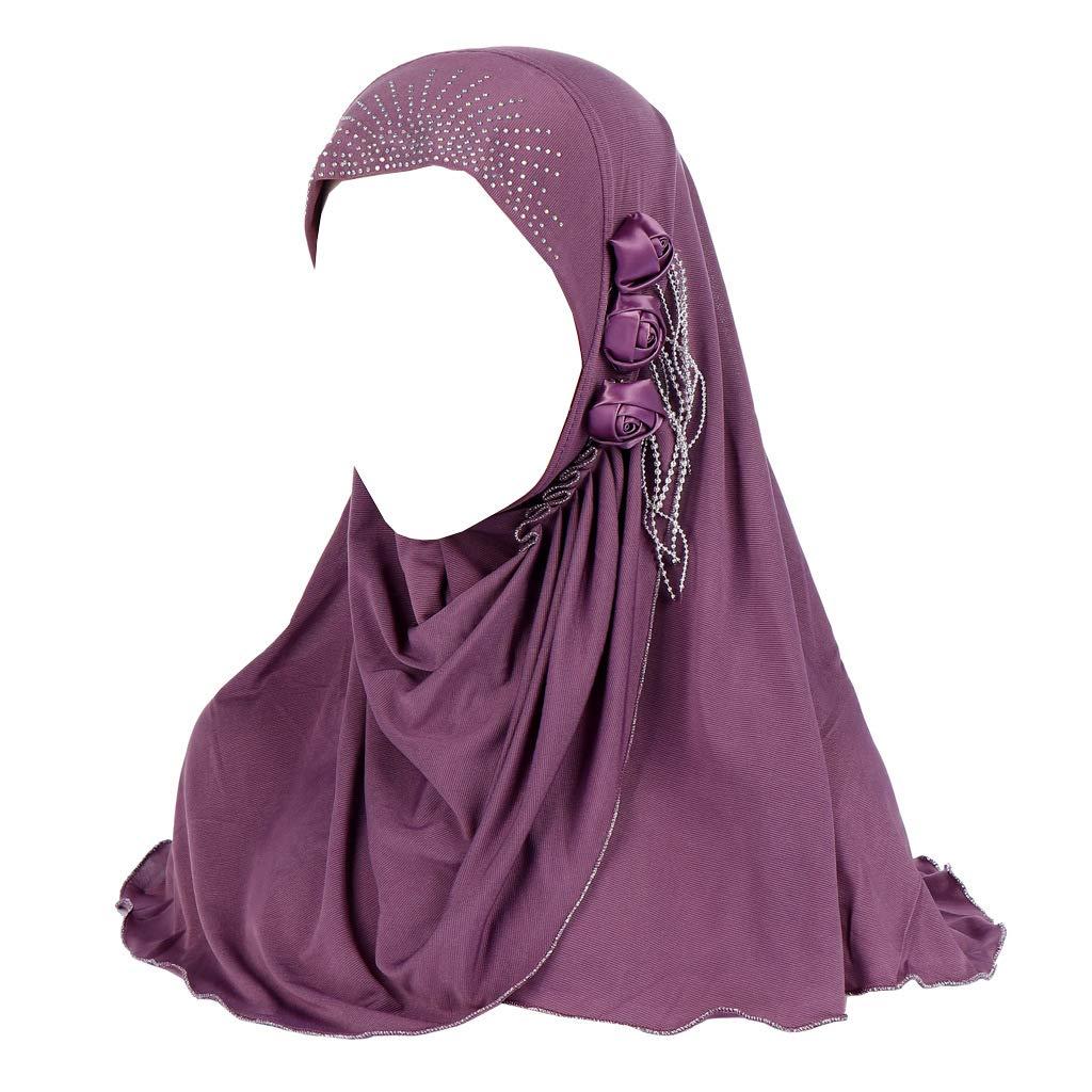 Amorar Foulard Sciarpe Cappelli per Donne Musulmane Copricapo Chemo Bandana Turbante Faccia Velo Copricapo Copricapo