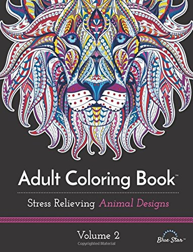 Adult Coloring Book Relieving Designs