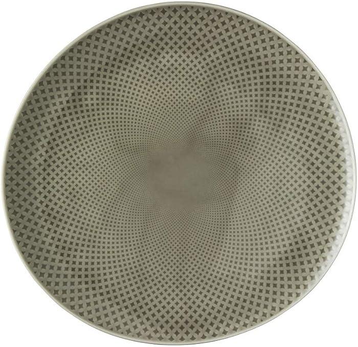 Rosenthal Junto Teller 22 flach pearl grey pearl grey ø 22 cm