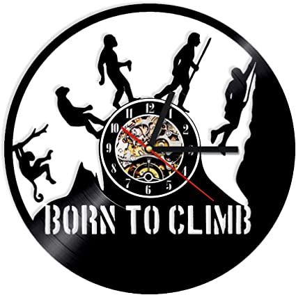 CDNY Reloj de Escalada Regalo Nacido para escaladores Reloj ...