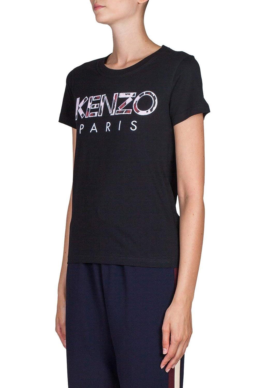 Kenzo Mujer F862TS72199399 Negro Algodon T-Shirt: Amazon.es: Ropa y accesorios