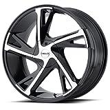 Helo He902 Gloss Black Machined - He902 16X7 5X114.30/5X120.00 Black (42 Mm) - HE90267017342