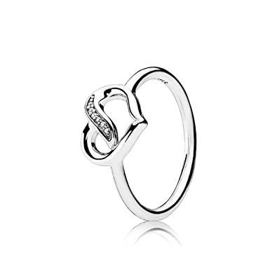 976342bd6 ... low price pandora ribbons of love ring clear cz 191022cz 54 7 us cb6c5  46497