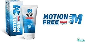 Motion Free mantiene las articulaciones flexibles, el bálsamo de calentamiento, los músculos con exceso