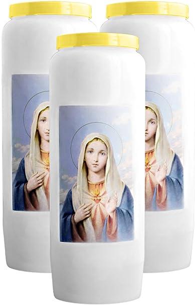ND de Lourdes La Bonne Nouvelle Bougies Neuvaines