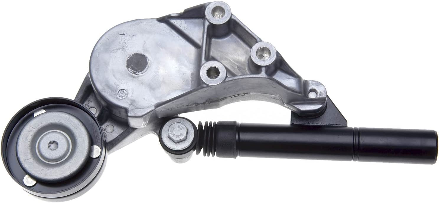 ACDelco 38192 Professional Automatic Belt Tensioner and Pulley Assembly with Hydraulic Damper