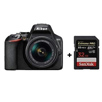 Nikon D3500 + AF-P DX 18-55 VR Kit + SanDisk Extreme Pro ...