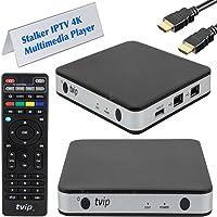TVIP v.605 Tv-Streamer, Svart, En Storlek