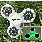 Quirkio - Hand Spinner Tri Fidget Spinner R188 Bearing Fast...