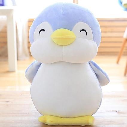 Amazon Com Dongcrystal 11 8 Blue Penguin Plush Toy Soft Stuffed