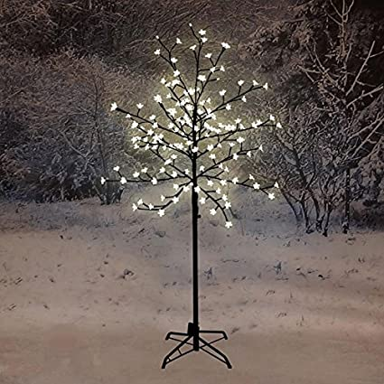 best service e9166 5fd66 1.5M Pre-Lit LED Cherry Blossom Tree with 150 Lights Outdoor / Indoor (Warm  White)