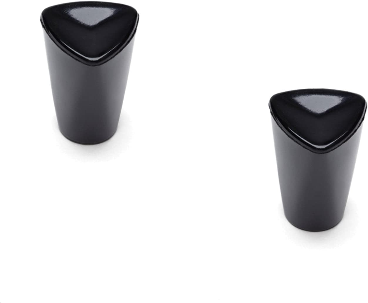 Tops 55706 Fitz-All Replacement Pot Knobs, Tall, Set of 2,Black