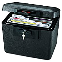 SentrySafe 1170BLK 1/2 Hour Fireproof Security File, 0.61 Cubic Feet, Black (Discontinued by Manufacturer)