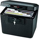 SentrySafe 1170BLK 1/2 Hour Fireproof Security File, 0.61 Cubic Feet, Black