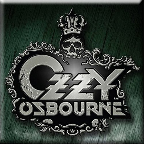 Ozzy Osbourne Belt - Ozzy Osbourne Fridge Magnet Crest Logo Official 76Mm X 76Mm