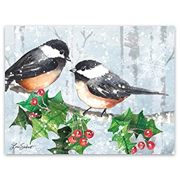 Amazon Com Lang Serene Forest Classic Christmas Cards