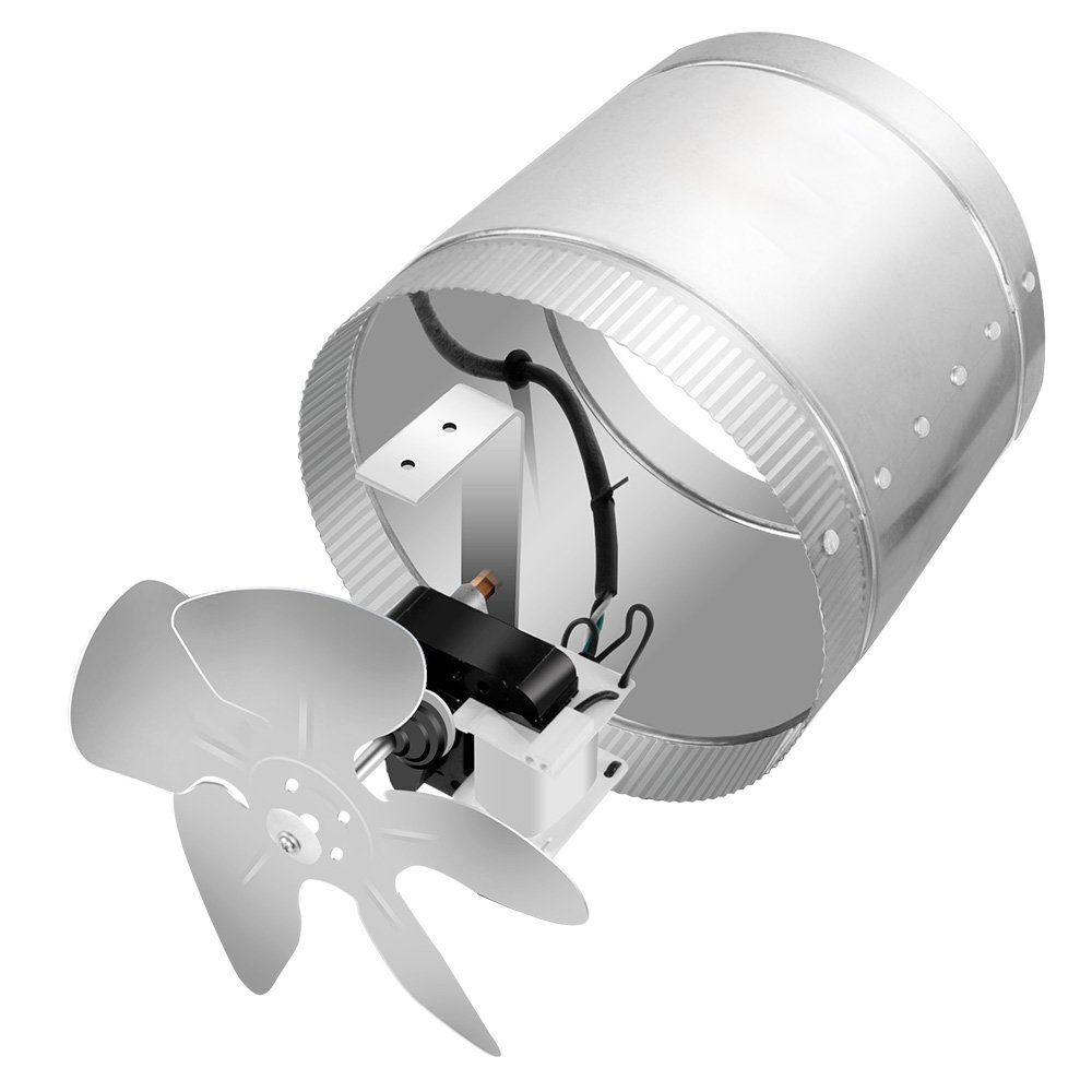 Ipower 6 Inch 240 Cfm Booster Fan Inline Duct Vent