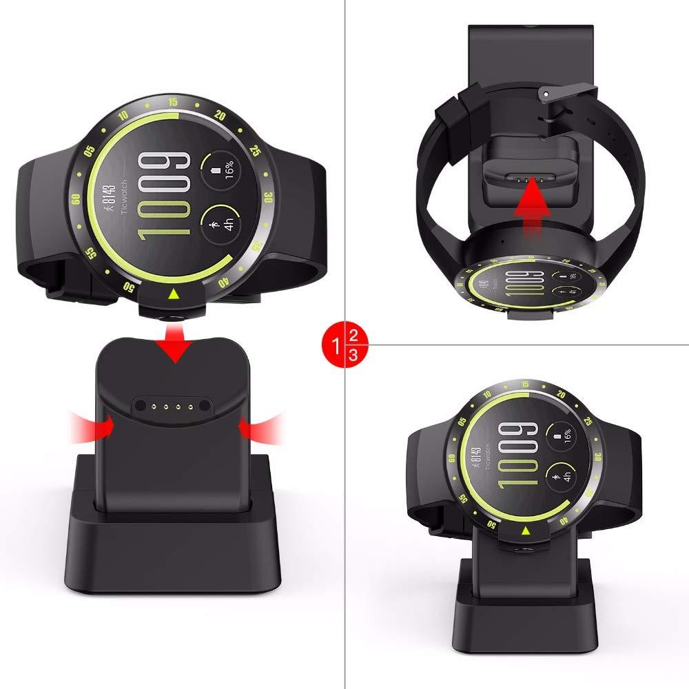 Blizim Ricambio Caricatore Caricabatterie Compatibile per Ticwatch S//E