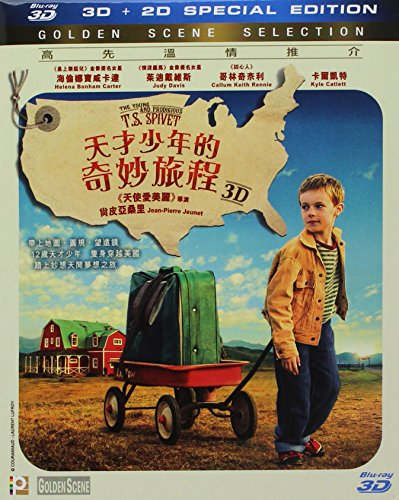 Young & Prodigious T.S. Spivet 2d+3d [Blu-ray]
