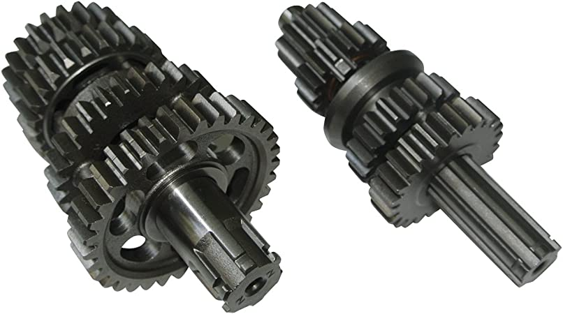 Dirt Pit Bike Engine Transmission Gear Box Main Counter Shaft For YX 110cc 125cc