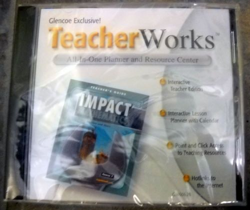 Download Teacher Works All in One Planner and Resource Center CD ROM (Mathematics Applications and Concepts Course 1) pdf