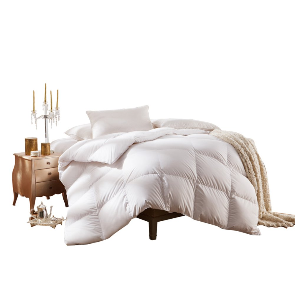 Quilt Breathable soft duvet White feather-A 220x240cm(87x94inch)